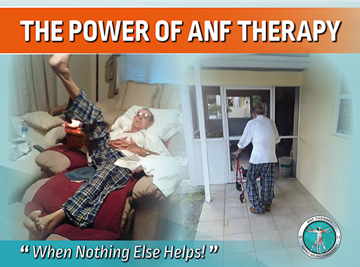 anf therapy, pain therapy, frequency therapy, foot pain, inflammation