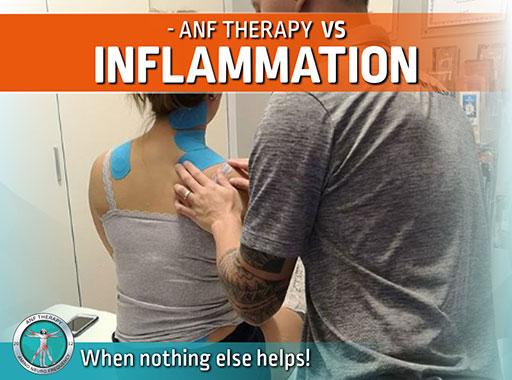 frequency therapy, inflammation, pain therapy, anf therapy