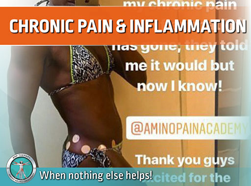 chronic pain, inflammation, immune system, cells, anf therapy