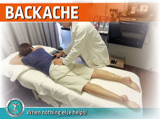 backache, pain therapy, anf therapy, inflammation, back pain,